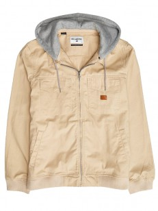 BILLABONG bunda BARLOW CANVAS KHAKI