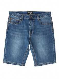 BILLABONG kalhoty OUTSIDER DENIM INDIGO WASH