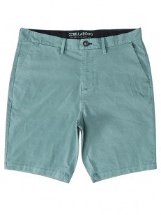 BILLABONG kraťasy ALL DAY CHINO DUST GREEN
