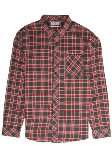 BILLABONG košela FREEMONT FLANNEL CHARCOAL