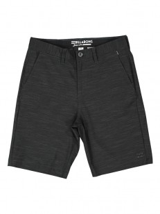 BILLABONG kraťasy CROSSFIRE X SLUB BLACK