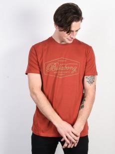 BILLABONG triko TRADEMARK RUSTIC RED
