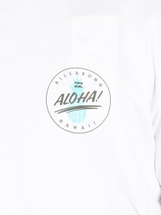 BILLABONG triko ALHOA WHITE