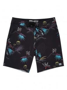 BILLABONG koupací šortky SUNDAYS PRO BLACK