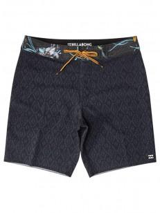 BILLABONG koupací šortky SUNDAYS MIN PRO BLACK