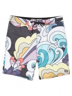 BILLABONG koupací šortky SUNDAYS LT MULTI