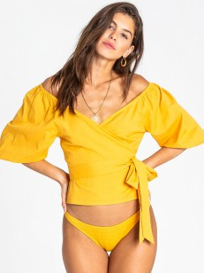 BILLABONG top NEW LUST SOLID GOLDEN GLOW