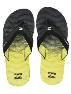 BILLABONG žabky DUNES FLUID NEO YELLOW