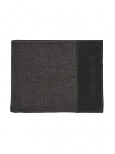 BILLABONG peněženka ALL DAY BLACK HEATHER