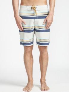 BILLABONG koupací šortky SUNDAYS STRIPE PRO STONE