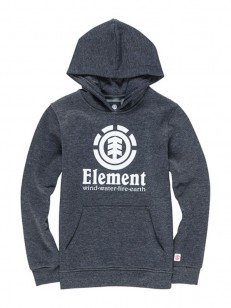 ELEMENT mikina VERTICAL CHARCOAL HEATHE