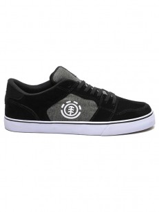 ELEMENT boty HEATLEY BLACK CHAMBRAY