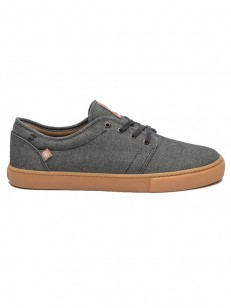 ELEMENT boty DARWIN BLACK CHAMBRAY