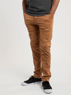 ELEMENT kalhoty HOWLAND CLASSIC CHINO BRONCO BROWN