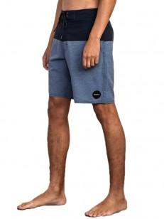 RVCA koupací šortky GOTHARD TRUNK NAVY