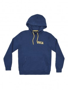 RVCA mikina FLORAL SNAKE SEATTLE BLUE
