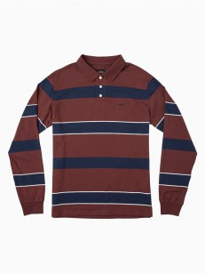 RVCA triko DARKLANDS BORDEAUX