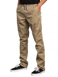 RVCA kalhoty WEEKEND ELASTIC WOOD