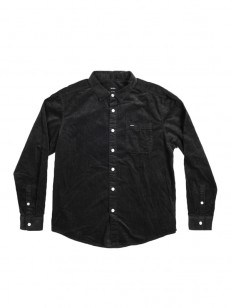 RVCA košile METTEE CORDUROY PIRATE BLACK