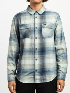 RVCA košile MUIR FLANNEL FEDERAL BLUE