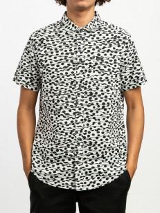 RVCA košile GERRARD ANTIQUE WHITE
