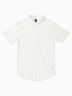 RVCA košile POMMIER BUDS ANTIQUE WHITE
