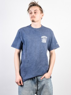 RVCA triko FLETCHER ACID SEATTLE BLUE