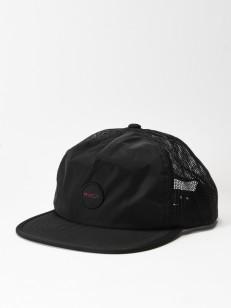 RVCA kšiltovka TRAVEL BLACK