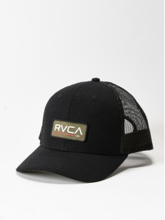 RVCA kšiltovka TICKET TRUCKER II BLACK OLIVE