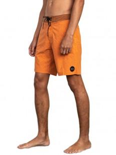 RVCA koupací šortky MOWGLI MOSAIC TRUNK BRIGHT ORA
