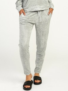 RVCA tepláky WHISPER FLEECE HEATHER GREY