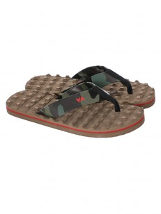 RVCA sandály ASTRODECK WOOD