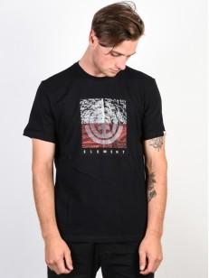 ELEMENT tričko REROUTE FLINT BLACK