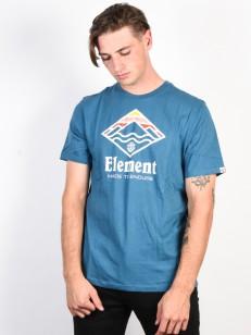 ELEMENT tričko LAYER BLUE STEEL
