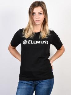 ELEMENT tričko ELEMENT LOGO BLACK