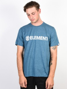 ELEMENT triko BLAZIN BLUE STEEL HEATHER