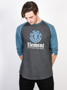 ELEMENT triko VERTICAL CHARCOAL HEATHER