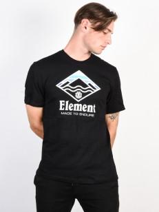 ELEMENT tričko LAYER FLINT BLACK