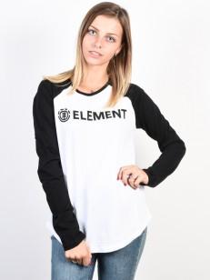 ELEMENT triko ELEMENT LOGO WHITE