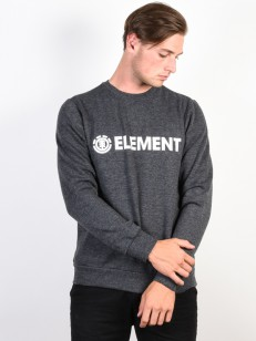 ELEMENT mikina BLAZIN CHARCOAL HEATHER