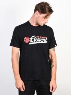ELEMENT tričko SIGNATURE FLINT BLACK
