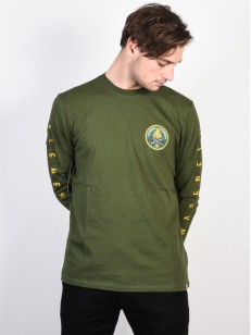ELEMENT triko EA LOGO OLIVE DRAB