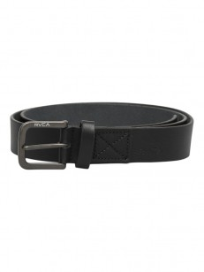 RVCA pásek TRUCE LEATHER BLACK