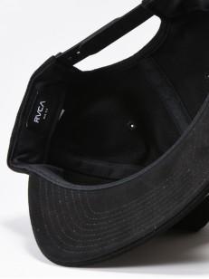 RVCA kšiltovka PACE BLACK