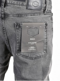 RVCA kalhoty DAGGERS DENIM VINTAGE CHARCOAL