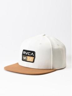 RVCA kšiltovka 9VOLT OFF WHITE