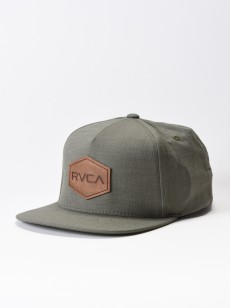 RVCA kšiltovka COMMONWEALTH DELUXE GREEN HEATHER
