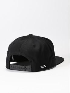 RVCA kšiltovka TWILL III BLACK/CHARCOAL