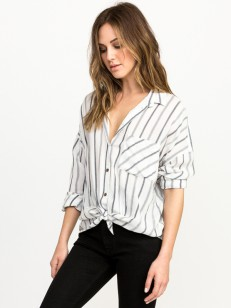 RVCA tričko HOLT VINTAGE WHITE