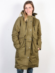 RVCA bunda HIGHLANDS BURNT OLIVE